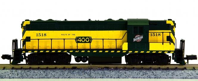 Atlas 48014 (N) – Diesellok GP-7 der Chicago & Northwestern (CNW)