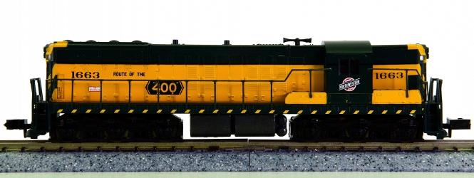 Life-Like 7742 (N) – Diesellok SD7 der Chicago & Northwestern (CNW)