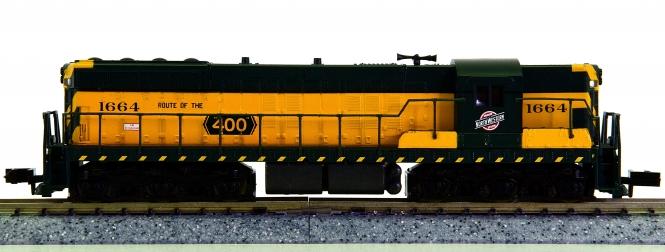 Life-Like 7744 (N) – Diesellok SD7 der Chicago & Northwestern (CNW)