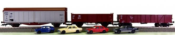 Fleischmann 76393 (H0) – 3-teiliges Güterwagen-Set der DB