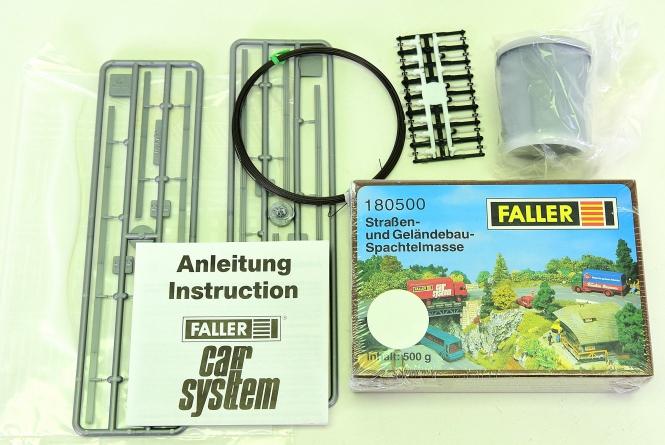 Faller - Car System, Strassenbau-Set, 5-teilig