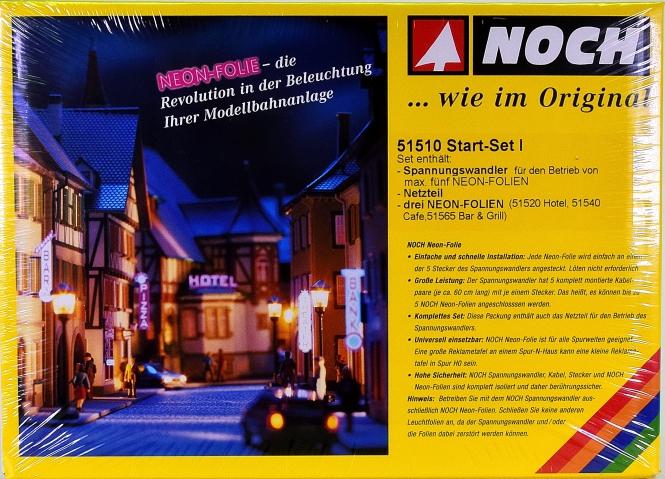 Noch 51510 – Start-Set Neon-Folie für Hotel, Café und Bar & Grill