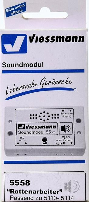 Viessmann 5558 - Soundmodul -Rottenarbeiter-