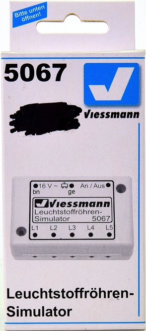 Viessmann 5067 - Leuchtstoffröhren-Simulator