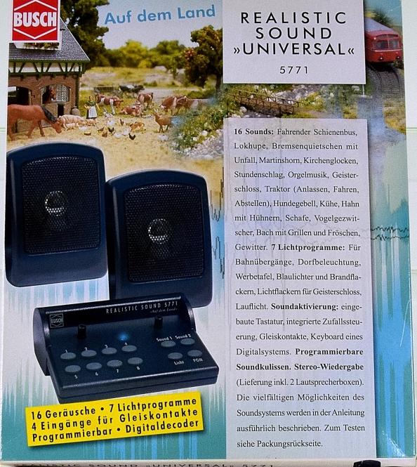 Viessmann 5771 - Realistic Sound UNIVERSAL, auf dem Land