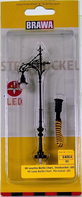 Brawa 84064 - Leuchte Berlin-Charlottenburg, mit LED