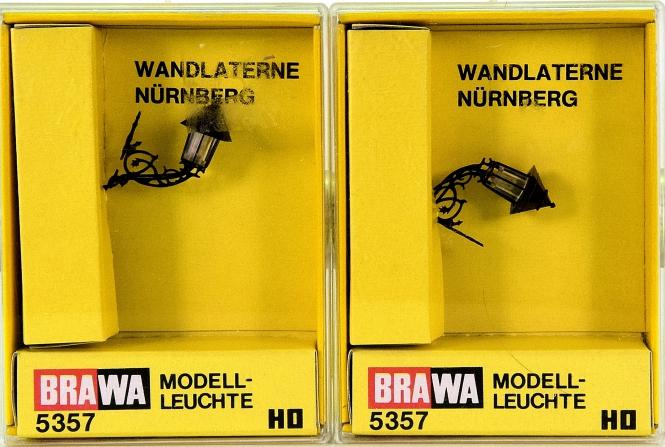Brawa 5357 - 2 x Wandlaterne Nürnberg