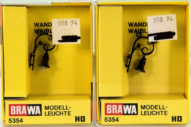Brawa 5354 - 2 x Wandlaterne Waiblingen