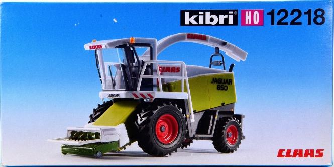 Kibri 12218 – Bausatz Häcksler Claas Jaguar 850 mit Mähvorsatz