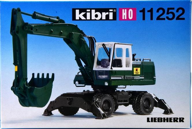 Kibri 11252 – Bausatz Liebherr Mobilbagger