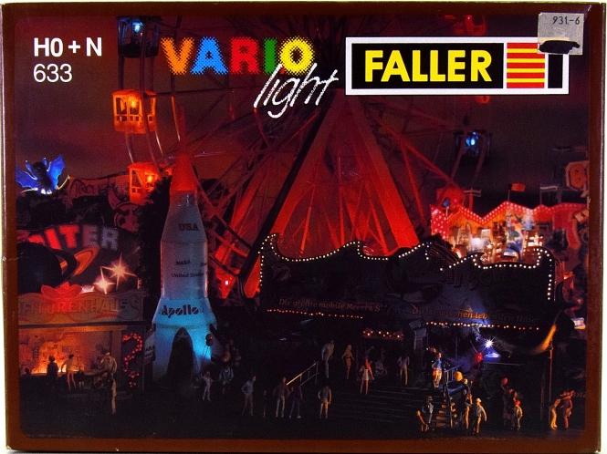 Faller 633 - Vario-Light, mit Motor, z.B. für Kirmesfahrgeschäfte