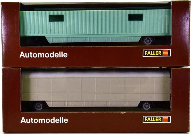 Faller 1038/1039 - 2 Kirmeswagen für Material-Transport