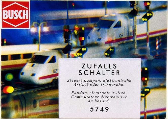 Busch 5749 - Elektronischer Zufallsschalter