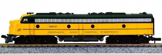 Life-Like 7163 (N) - Diesellok N E8 der CNW