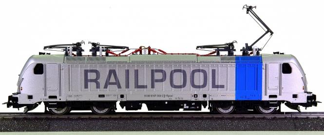 Piko 51565 (AC) – Mehrsystem-Elektrolok BR 187 der Railpool, digital + Sound