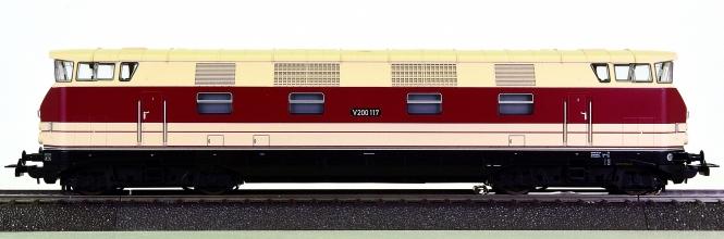 Piko 52573 (AC) - Mehrzweck-Diesellok BR V200 der DR (DDR), digital + Sound