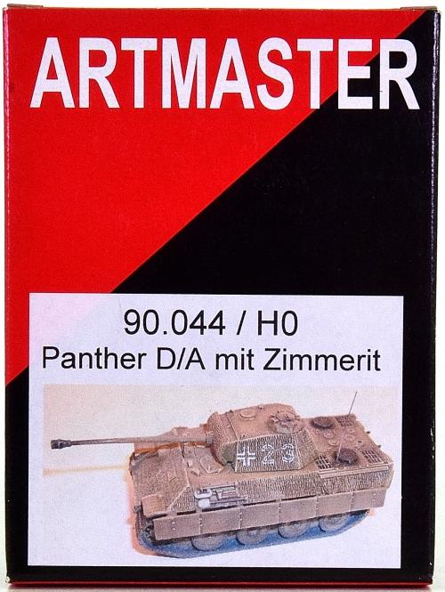 Artitec / Artmaster 90.044 – Bausatz Panzer Panther D/A mit Zimmerit
