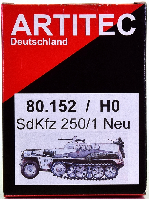 Artitec / Artmaster 80.152 – Bausatz Sonderkraftfahrzeug 250/1 Neu