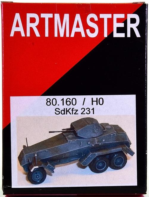 Artmaster 80.116 Sentinel mit Pritsche H0 1:87 Bausatz Resin unbemalt LKW