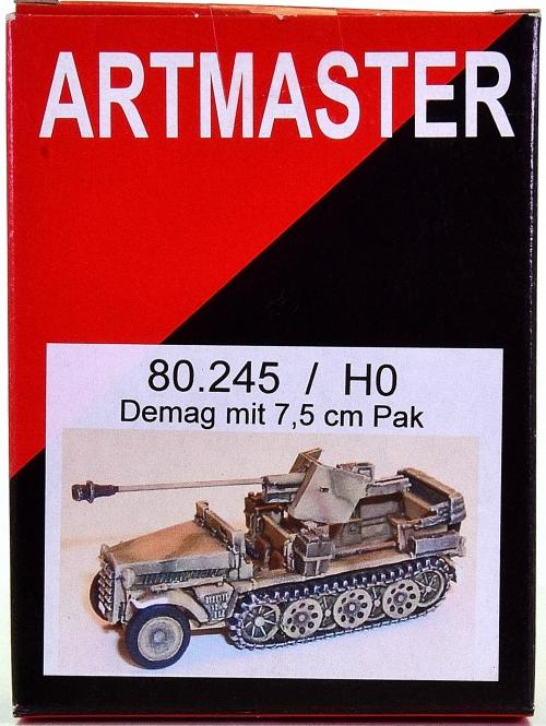 Artitec / Artmaster 80.245 – Bausatz Demag mit 7,5 cm Pak
