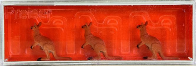 Preiser 20392 – Känguruhs, 3 Figuren
