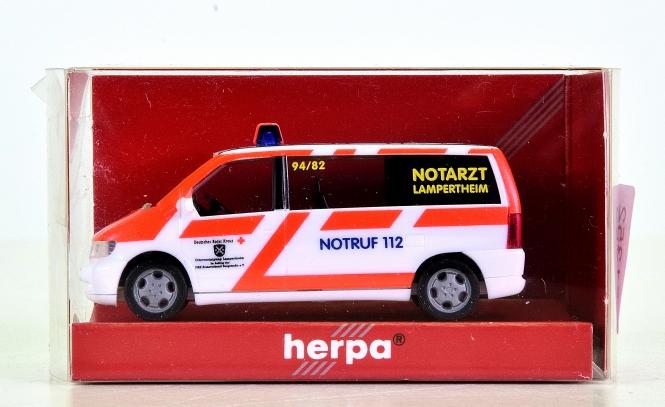 Herpa 044950 (1:87) - Mercedes-Benz Vito -Notarzt-