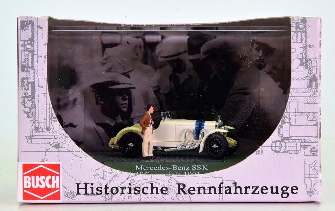Busch 48305 (1:87, H0) - Mercedes-Benz SSK -Rudolf Caracciola-