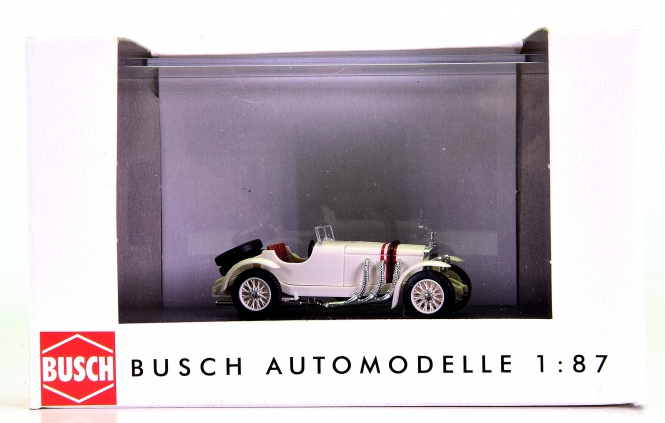 Busch 48306 (1:87, H0) - Mercedes-Benz SSK, Busch Megamodell
