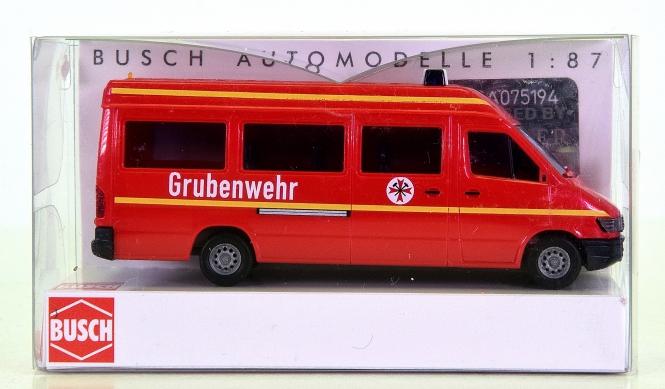 Busch 47841 (1:87, H0) - Mercedes-Benz Sprinter -Grubenwehr-