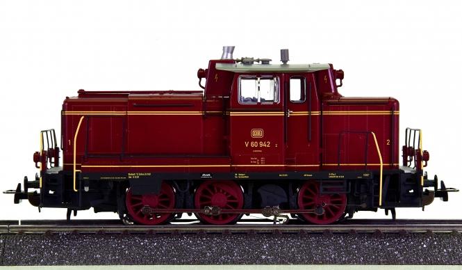 Piko 52829 (AC) – Rangier-Diesellok BR V 60 der DB, digital + Sound