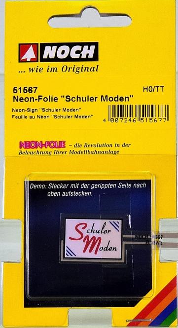 Noch 51567 (H0 / TT) – Neon-Folie -Schuler Moden-
