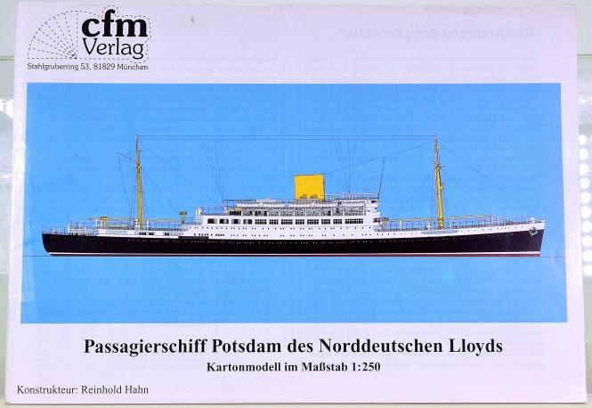 CFM Verlag (1:250) – Passagierschiff Potsdam des Norddeutschen Lloyds