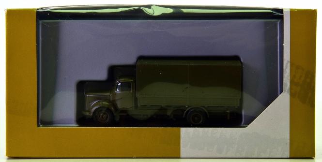 Herpa minitanks 743150 (1:87) - MB L311 SA Planen-LKW -Militär-