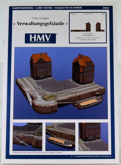 HMV 3465 (1:250) – Hafenanlagen Verwaltungsgebäude + Lasercutsatz