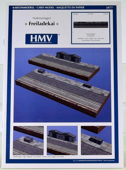 HMV 3477 (1:250) – Hafenanlagen Freiladekai + Lasercutsatz