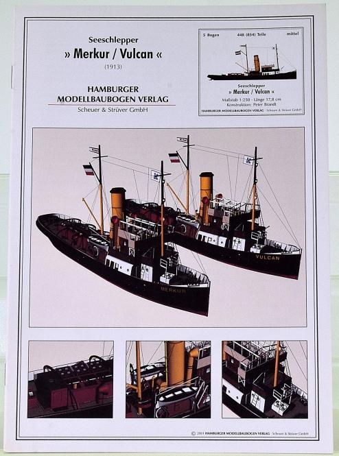 HMV 3424 (1:250) – Seeschlepper Merkur / Vulcan