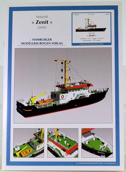 HMV 3430 (1:250) – Peilschiff Zenit (2004) + Lasercutsatz