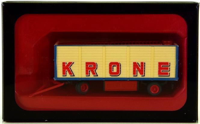 Preiser 21021 (H0) - Zirkus Krone, offener Packwagen, mit Beladung -Exotenzelt-