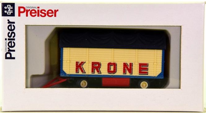 Preiser 21023 (H0) - Zirkus Krone, Packwagen mit Plane