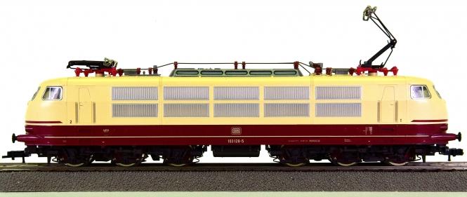 Fleischmann 64376 (H0) – Schnellzug-Elektrolok BR 103 der DB, digital (FMZ)