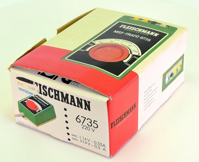 Fleischmann 6735 – MSF-Regel-Transformator 220 V, 14,5 VA