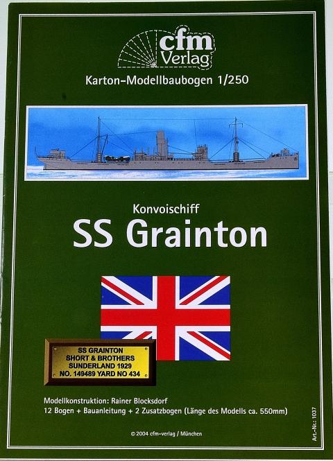 CFM Verlag 1037 (1:250) – Konvoischiff SS Grainton