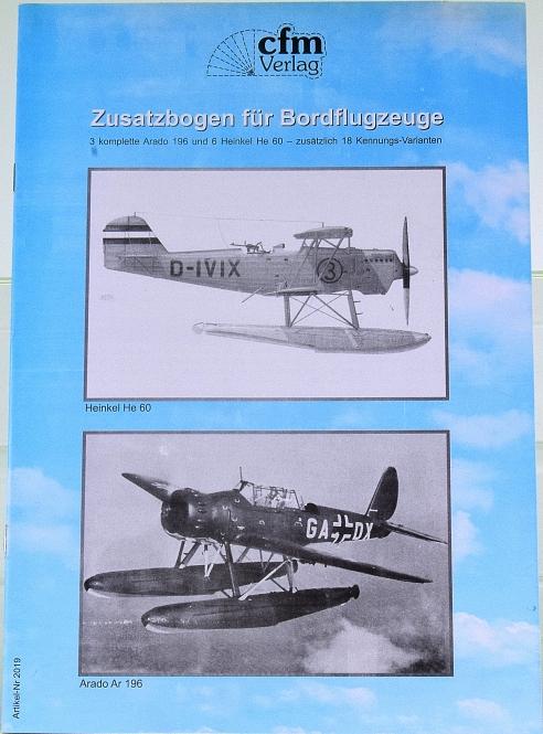 CFM Verlag 2019 (1:250) – Zusatzbogen für Bordflugzeuge