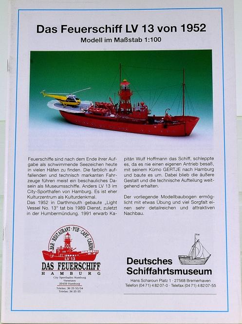 DSM Bremerhaven (1:100) – Feuerschiff LV 13 (1952)