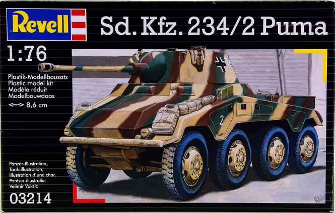 Revell 03214 (1:76) - Bausatz Sd.Kfz. 234/2 Puma