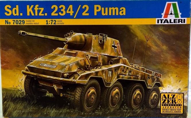 Italeri 7029 (1:72) - Bausatz Sd.Kfz. 234/2 Puma