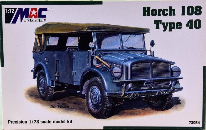 MAC 72054 (1:72) - Bausatz Horch 108 Typ 40