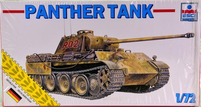 ESCI 8363 (1:72) - Bausatz Jagdpanzer Panther