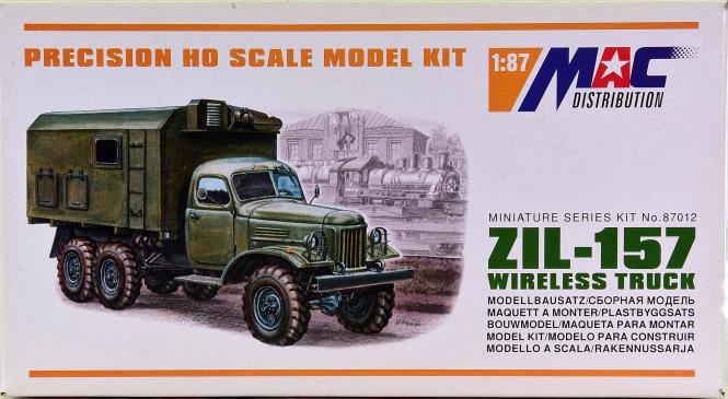 MAC 87012 (1:87) - Bausatz LKW ZIL-157