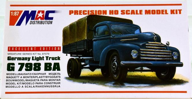 MAC 87079 (1:87) - Bausatz LKW Ford G 798 BA
